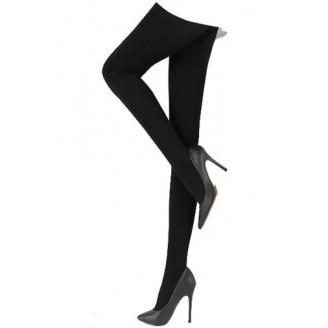 Fashion Basic Long Black Tights