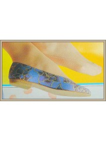 Fashion Foot Cover Sheer Perfection Beige