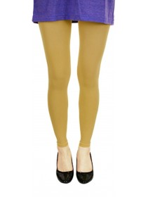 Fashion Quality Leggings Sheer Beige