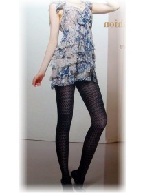 Fashion Pantyhose Classic Jacquard With Exotic Pattern Design 280D