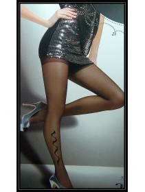 Fashion Pantyhose Style & Elegance With Exotic Curve Pattern Design