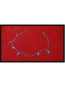 Fashion Silver Dolphin Ankle Bracelets