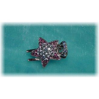 Lovely Star Shape With Crystal Hairclip