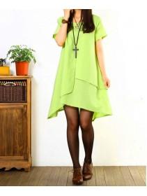 Fashion Flax Commoner Basic Tunic Dress