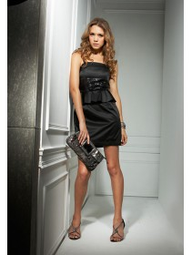 Fashion Dinner Dress With Sequin