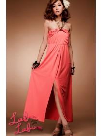 Fashion Halter Neck Long Dress