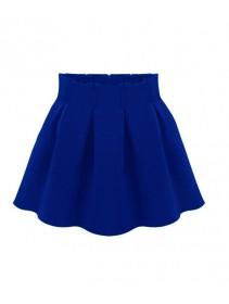 Trendy Pleated Design Skirt
