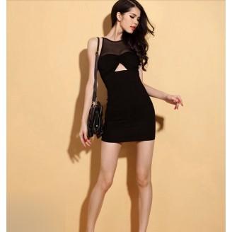Fashion Sexy Lady Slim Mini Dress