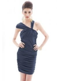 Fashion European Stylish Lycra Mini Dress