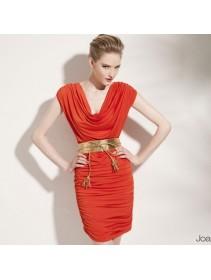 Fashion European Elegant Lycra Mini Dress