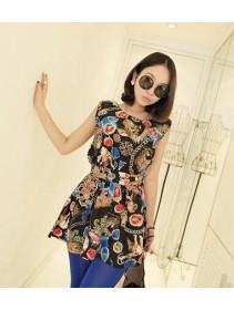 Fashion Exotic Design Sleeveless Mini Dress