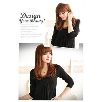 Fashion 3/4 Long Sleeves Tunic Dress