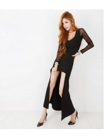 Fashion Fishtail Style Lady Dress