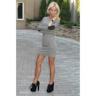 Fashion European Off Shoulder Long Sleeve Mini Dress