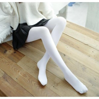 Fashion Quality Leggings Sheer White (Full Length)