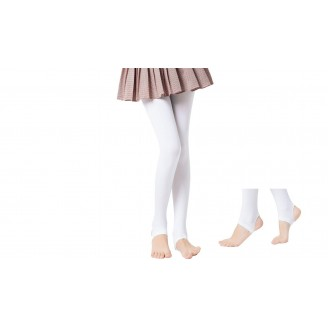 Fashion Quality Leggings Sheer White (Stirrup)