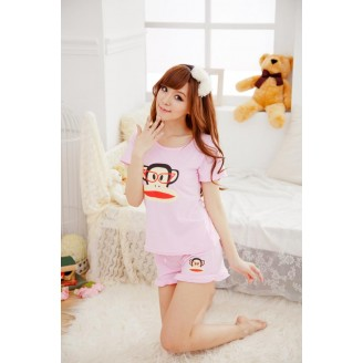 Cute Specky Julius The Monkey Nightshirt With Matching Shorts (Without Hairband)