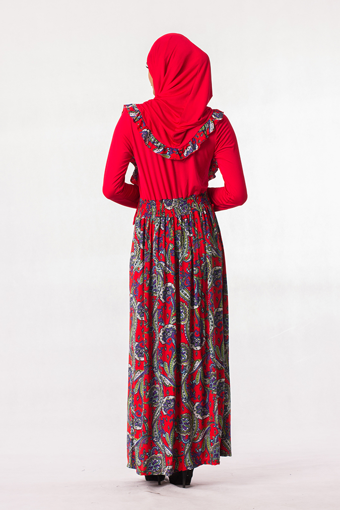 Fashion Two-Piece Batik Jubah Dress (end 6 22 2019 4 58 PM) bcc333bd8a